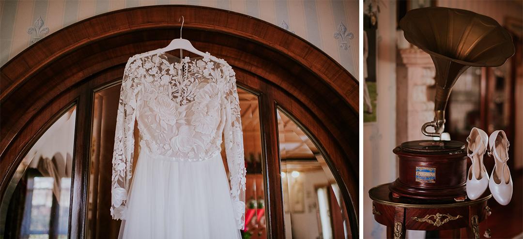 Vestito Scarpe da sposa