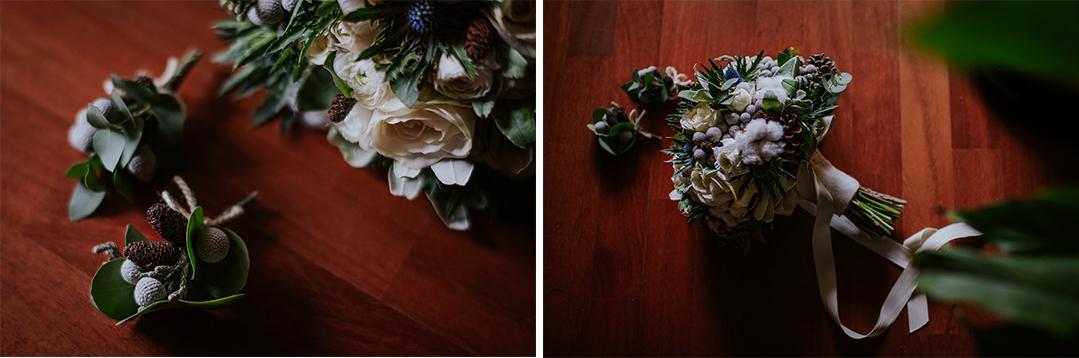 Bouquet sposa vintage invernale