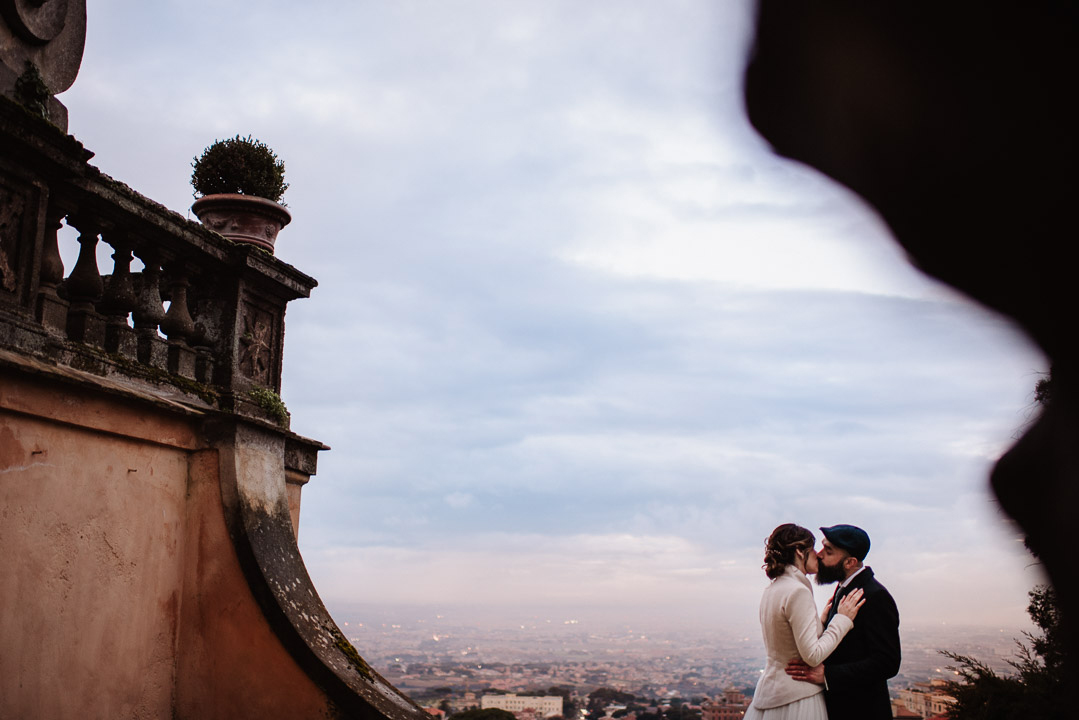 Ritratto sposi intimo