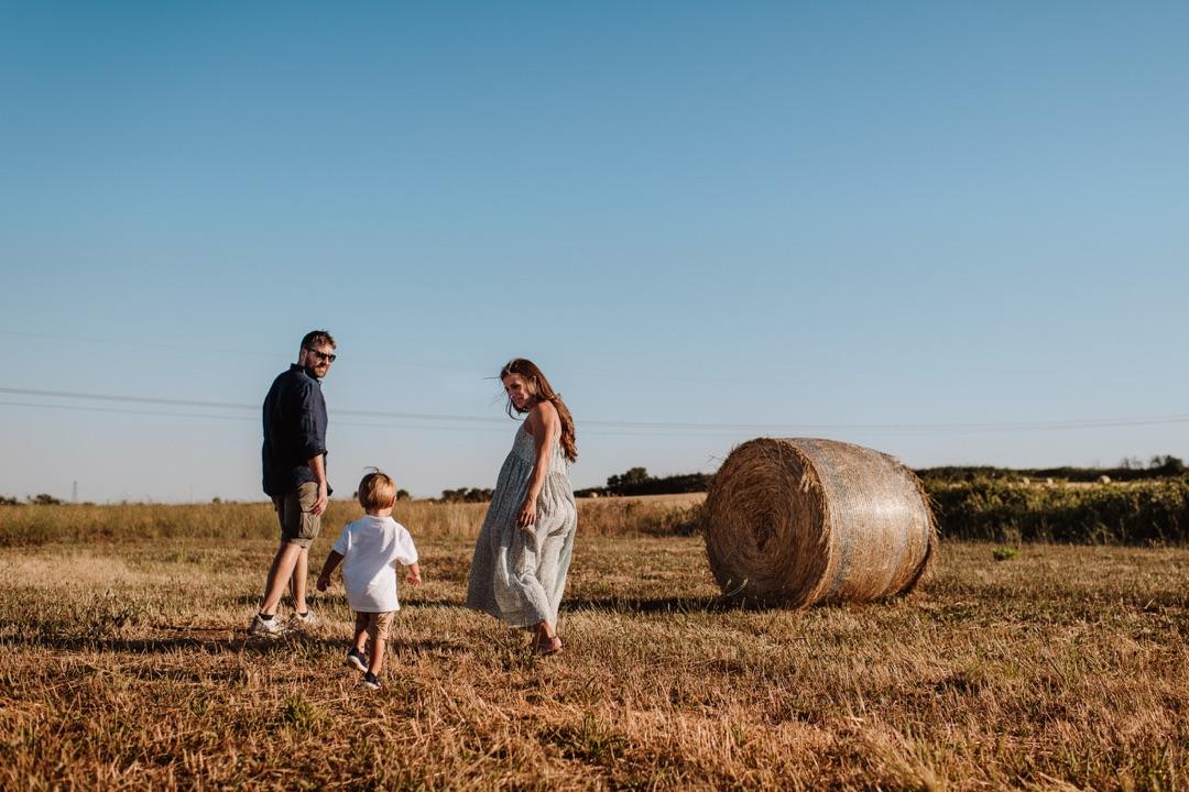 Servizio fotografico Family tra le campagne romane